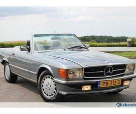 ② 1989 MERCEDES-BENZ 560 SL, EUROPEES UITGEVOERD, NL - MERCEDES-BENZ