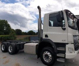 2014 DAF CF CHASSIS/CAB EURO6 FOR SALE IN OFFALY FOR €1 ON DONEDEAL