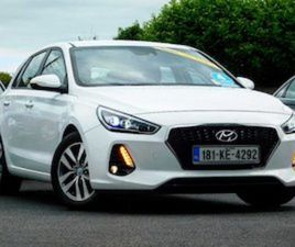 I30 - VIDEO TOUR - €87 PER WEEK - UPGRADE SPEC FOR SALE IN KILDARE FOR €20950 ON DONEDEAL