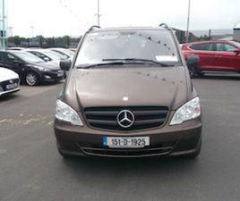 MERCEDES-BENZ VITO OTHER CDI KA/L COMF MIXT FOR SALE IN LIMERICK FOR €21950 ON DONEDEAL