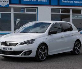PEUGEOT 308 GT-LINE 1.6BLUEHDI 2016 *€67 PER WEEK FOR SALE IN SLIGO FOR €13495 ON DONEDEAL