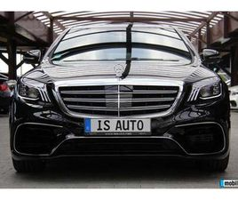 MERCEDES-BENZ S 400 S63 OPTICPACKET/LONG/4MATIC/AMGLINE/DISTRONIC, 2017Г