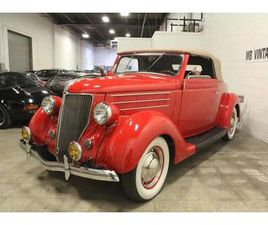 1936 FORD DELUXE MODEL 68 DELUXE RUMBLE SEAT CABRIOLET!