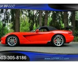 2004 DODGE VIPER SRT-10 CONVERTIBLE 6 SPEED MANUAL ONLY 21K MILES