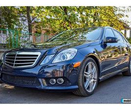 MERCEDES-BENZ E 350 AMG SPORT PACKAGE, 2010Г