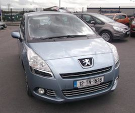 PEUGEOT 5008 1.6 HDI ACTIVE 110BHP 5DR FOR SALE IN LIMERICK FOR €9950 ON DONEDEAL