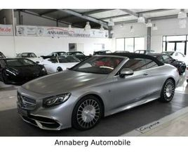 MERCEDES-BENZ S 650 MAYBACH CABRIO UPE: 357.000,-€