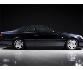 2000 MERCEDES-BENZ CL - (W140) 500 'FINAL EDITION' AUTOMATIC GEARBOX OF 2000