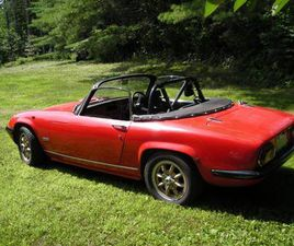 1968 LOTUS ELAN S4 BIG VALVE CONVERTIBLE