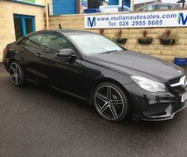 MERCEDES-BENZ E CLASS 220 CDI AMG COUPE FOR SALE IN DERRY FOR £15750 ON DONEDEAL