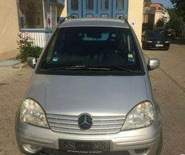 LEFT HAND DRIVE MERCEDES VANEO 2005 1.9L 5 SEATER LHD