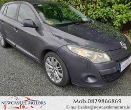 2010 RENAULT MEGANE NEW NCT / LOW MILEAGE FOR SALE IN DUBLIN FOR €3,950 ON DONEDEAL