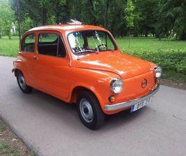 FIAT 600 . LICENCE ZASTAVA 750