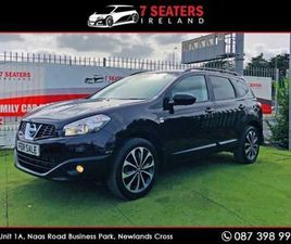NISSAN QASHQAI +2 N-TEC GLASS ROOF NEW NCT PRI FOR SALE IN DUBLIN FOR €12,900 ON DONEDEAL