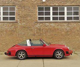 1977 PORSCHE 911S 911 S TARGA 2.7