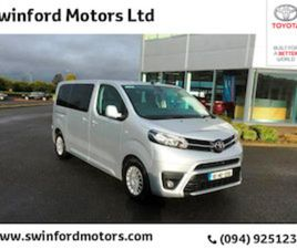 TOYOTA PROACE PR VERSO 2.0D SHUTTLE MWB FOR SALE IN MAYO FOR €39950 ON DONEDEAL