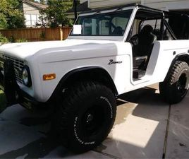 FOR SALE: 1973 FORD BRONCO IN CADILLAC, MICHIGAN