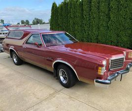 FOR SALE: 1978 FORD RANCHERO IN FREMONT, MICHIGAN