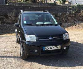 FIAT PANDA 1.2 4X4 A GASOLINA NA AUTO COMPRA E VENDA