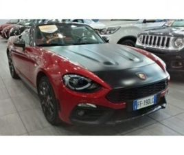 ABARTH 124 SPIDER 1.4 TURBO MULTIAIR 170 CV - AUTO USATE - QUATTRORUOTE.IT - AUTO USATE -
