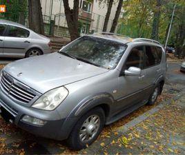 CARS.BG - SSANGYONG REXTON 4X4 KLIMA KOJA, 3999 ЛВ., ДИЗЕЛ