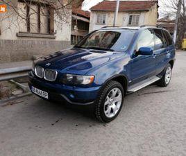 CARS.BG - BMW X5 4.4 СПОРТ ПАКЕТ, 10900 ЛВ., БЕНЗИН