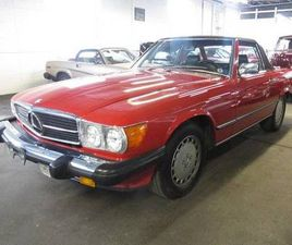 1987 MERCEDES-BENZ 560SL BASE