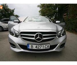 CARS.BG - MERCEDES-BENZ E 220 9G TRONIC, 37000 ЛВ., ДИЗЕЛ