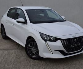 PEUGEOT 208 ACTIVE 1.2 PURETECH PETROL 75BHP FOR SALE IN WEXFORD FOR €UNDEFINED ON DONEDEA