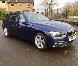 >JAN 2016 BMW 3 SERIES 320D SPORT 5DR