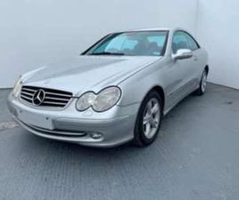 1.8 CLK200 KOMPRESSOR AVANTGARDE COUPE 2D 1796CC AUTO 2-DOOR