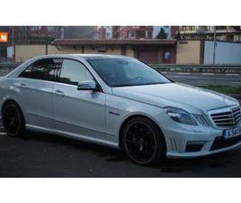 CARS.BG - MERCEDES-BENZ E 500 Е63AMG NIGHT 7G, 33500 ЛВ., БЕНЗИН