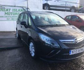 OPEL ZAFIRA E 1.6 CDTI 5DR FOR SALE IN CORK FOR €12900 ON DONEDEAL
