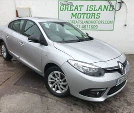 RENAULT FLUENCE LIMITED EDITION 1.5 DCI 4DR SUNR FOR SALE IN CORK FOR €9,450 ON DONEDEAL