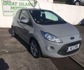 FORD KA TITANIUM 1.25I 3DR FOR SALE IN CORK FOR €8,250 ON DONEDEAL