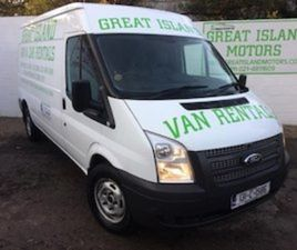 FORD TRANSIT COMMERCIAL VAN 2.4D 333 ROAD TAX FOR SALE IN CORK FOR €12400 ON DONEDEAL