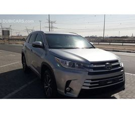 TOYOTA KLUGER RIGHT HAND DRIVE FULL OPTION LEATHER 7 SEATS 3.5L V6 FOR SALE: AED 69,500