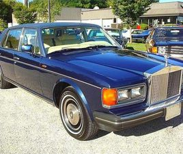 FOR SALE: 1984 ROLLS-ROYCE SILVER SPUR IN STRATFORD, NEW JERSEY