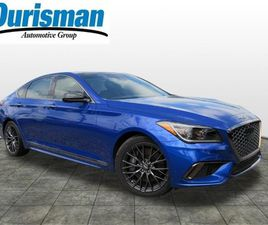 BRAND NEW BLUE COLOR 2020 GENESIS G80 SPORT FOR SALE IN BOWIE, MD 20716. VIN IS KMTFN4JB5L