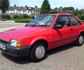 FORD ESCORT 1.4 L 3 DR ONE LADY OWNER FROM NEW / TOTALLY STUNNING / 32 YEARS OLD / HATCHBA