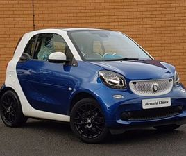 2016 SMART FORTWO COUPE 0.9 TURBO PROXY PREMIUM 2DR