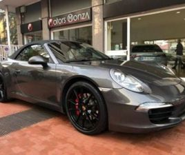 911 3.8 CARRERA S CABRIOLET - PACK CHRONO, SCARIC