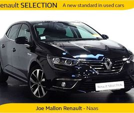 RENAULT MEGANE ICONIC TCE 140 GPF MY18 FOR SALE IN KILDARE FOR €22,952 ON DONEDEAL
