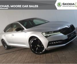 SKODA SUPERB SPORTLINE 2.0 TDI 150BHP SUNROOF FOR SALE IN WESTMEATH FOR €45000 ON DONEDEAL