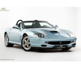 FERRARI 550 BARCHETTA // ONLY 557 MILES // 1 OF 448 // GRIGIO ALLOY // LHD ITALIAN SUPPLIE