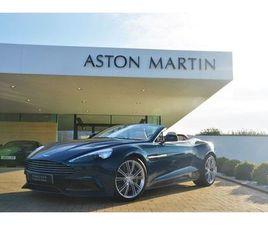 2014 ASTON MARTIN VANQUISH V12 2DR VOLANTE TOUCHTRONIC AUTO