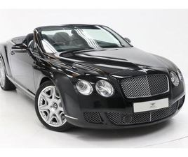 2011 BENTLEY CONTINENTAL GTC 6.0 W12 [590] 2DR AUTO