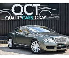 BENTLEY CONTINENTAL GT W12 GT GREEN 2005