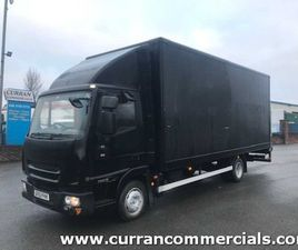 2013 IVECO 75E16 7.5 TON 20FT BOX WITH TAIL LIFT FOR SALE IN ARMAGH FOR €1 ON DONEDEAL