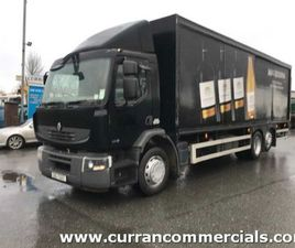 08 RENAULT 280 6X2 LINK LINER BOX + LIFT FOR SALE IN ARMAGH FOR €1 ON DONEDEAL